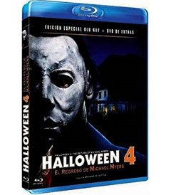 HALLOWEEN 4 BD + DVD extras