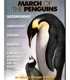 DVD - LA MARCHA DE LOS PINGUINOS - USADA