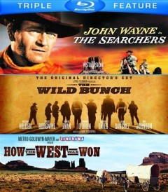 THE SEARCHERS / WILD BUNCH / HOW THE WEST WAS WON (PACK TRIPLE)