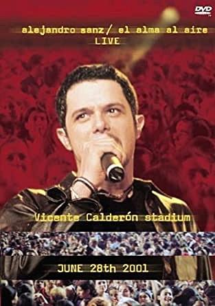 DVD - ALEJANDRO SANZ EL ALMA AL AIRE LIVE - USADA