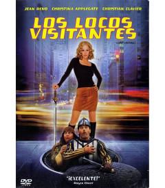 DVD - LOS LOCOS VISITANTES - USADA
