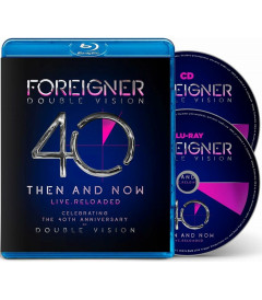 FOREIGNER - DOUBLE VISION 40 THEN AND NOW