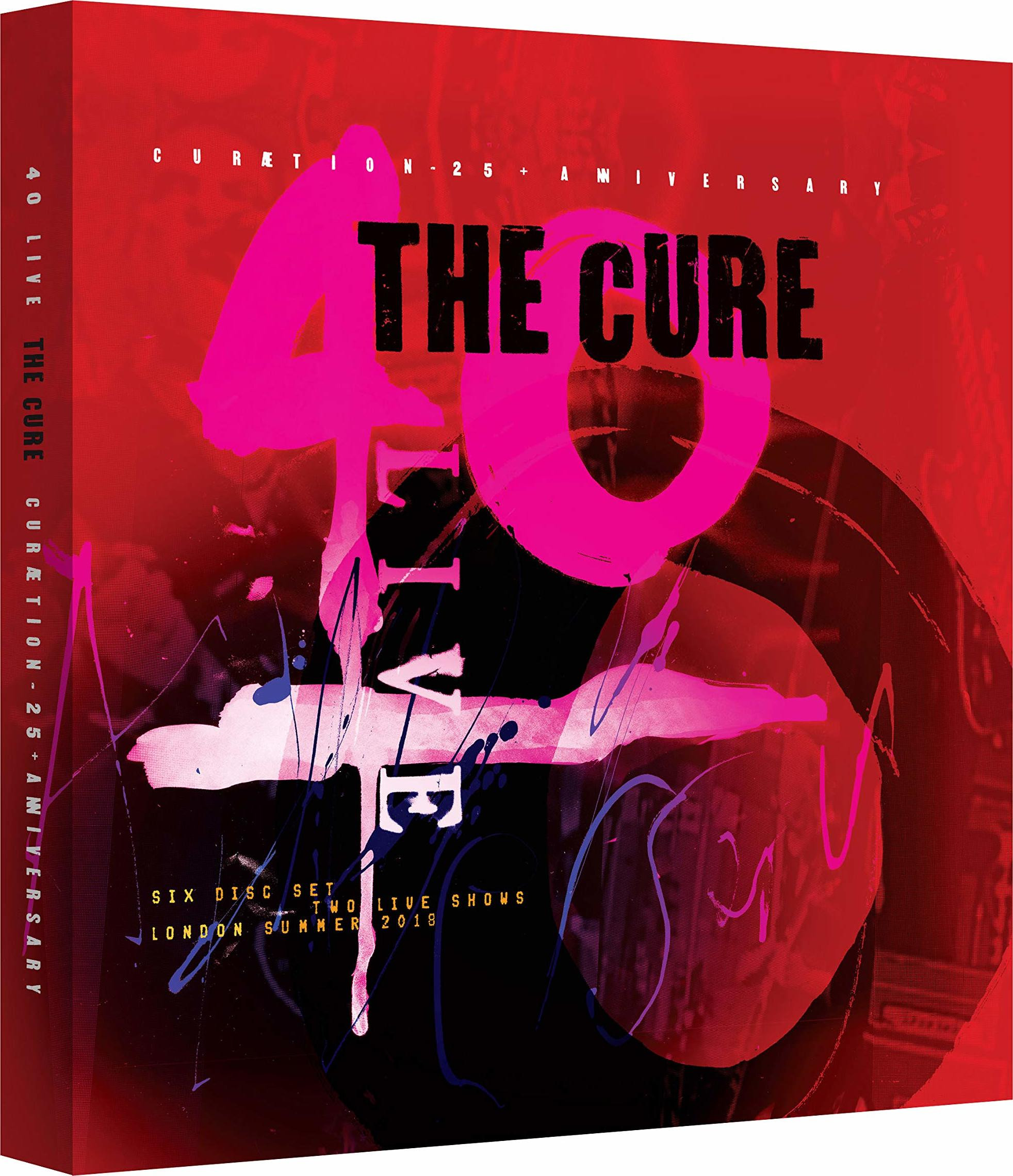 THE CURE (CURAETION 25 + ANNIVERSARY)