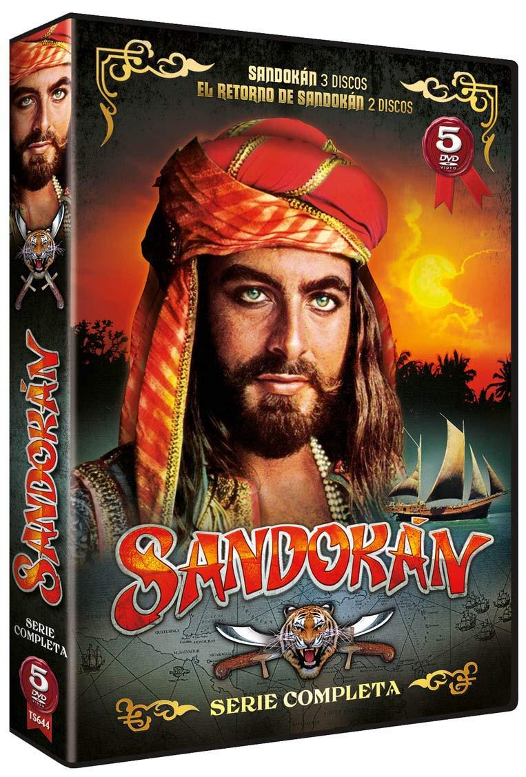 SANDOKAN+ EL REGRESO DE SANDOKAN SERIE COMPLETA 5 DVD