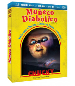 CHUCKY EL MUÑECO DIABOLICO - EDICION ESPECIAL CON SLIPCOVER