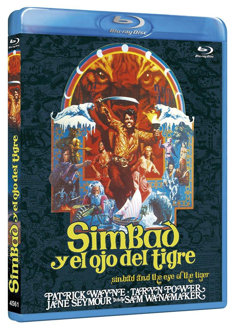 SIMBAD Y EL OJO DEL TIGRE - Blu-ray