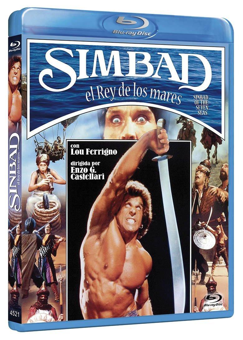 SIMBAD, EL REY DE LOS MARES - Blu-ray