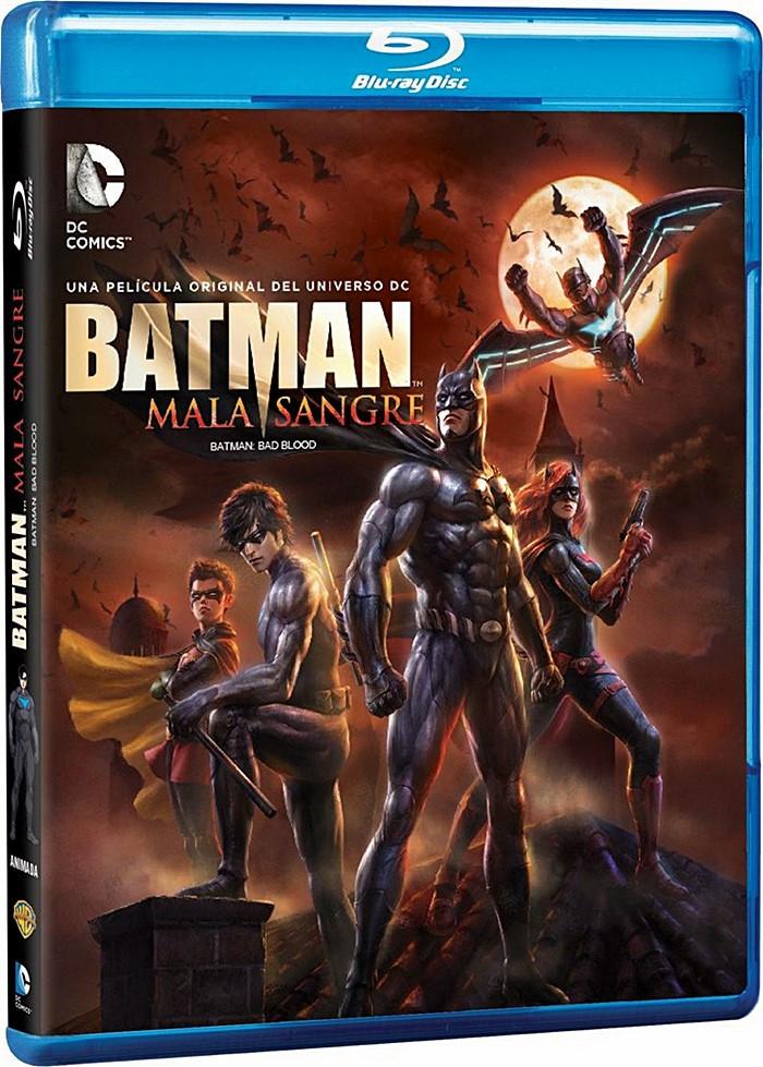 DC ANIMADA 25 - BATMAN (MALA SANGRE)