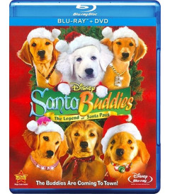 SANTA BUDDIES (LA LEYENDA DE SANTA PAWS) - USADA Blu-ray + DVD