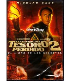 DVD - LA LEYENDA DEL TESORO PERDIDO 2 - USADA