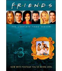 DVD - FRIENDS 3° TEMPORADA COMPLETA - USADA