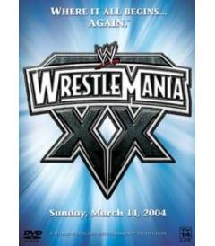 DVD - WRESTLEMANIA XX (2004) - USADA (DIGIPACK)
