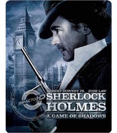 SHERLOCK HOLMES (JUEGO DE SOMBRAS) (EDICIÓN BEST BUY STEELBOOK) - USADA