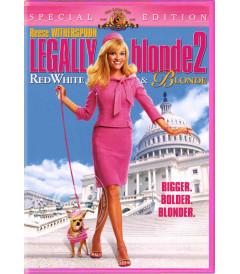 DVD - LEGALMENTE RUBIA 2 - USADA