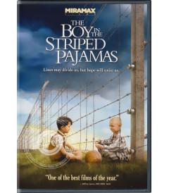 DVD - EL NIÑO CON EL PIJAMA DE RAYAS - USADA