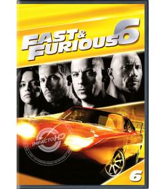 DVD - RÁPIDOS Y FURIOSOS 6