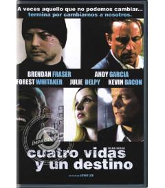DVD - CUATRO VIDAS Y UN DESTINO - USADA