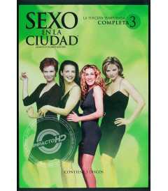DVD - SEXO EN LA CIUDAD (3° TEMPORADA COMPLETA)