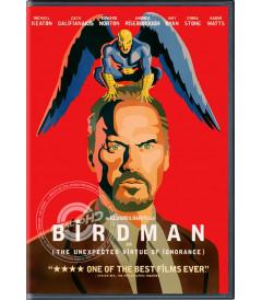 DVD - BIRDMAN (LA INESPERADA VIRTUD DE LA IGNORANCIA) - USADA