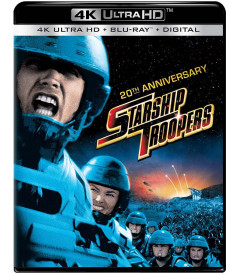 4K UHD - INVASIÓN (STARSHIP TROOPERS) (EDICIÓN 20° ANIVERSARIO)