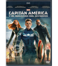 DVD - CAPITÁN AMÉRICA Y EL SOLDADO DE INVIERNO (*)