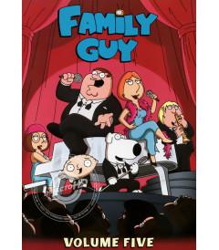 DVD - PADRE DE FAMILIA (5° TEMPORADA, PARTE 1) - USADA