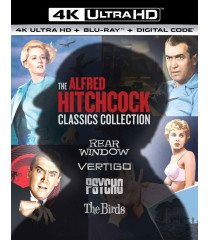 4K UHD - THE ALFRED HITCHCOCK CLASSIC COLLECTION