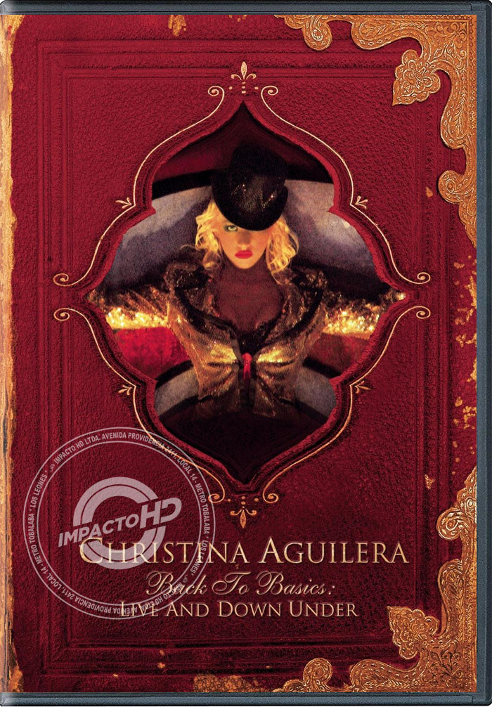 DVD - CHRISTINA AGUILERA (BACK TO BASICS) (LIVE AND DOWN UNDER)