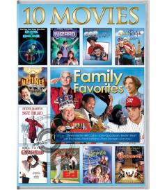 DVD - 10 PELÍCULAS PARA VER EN FAMILIA - USADA