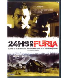 DVD - 24 HORAS DE FURIA - USADA