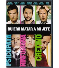 DVD - QUIERO MATAR A MI JEFE - USADA