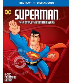 SUPERMAN (LA SERIE ANIMADA COMPLETA) (EDICIÓN DE COLECCIÓN 25° ANIVERSARIO) - PRE VENTA