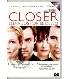 DVD - CLOSER (LLEVADOS POR EL DESEO) - USADA