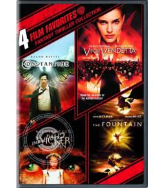 DVD - 4 PELÍCULAS FAVORITAS (COLECCIÓN FANTASÍA Y SUSPENSO)