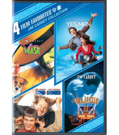 DVD - 4 PELÍCULAS FAVORITAS (COLECCIÓN JIM CARREY)