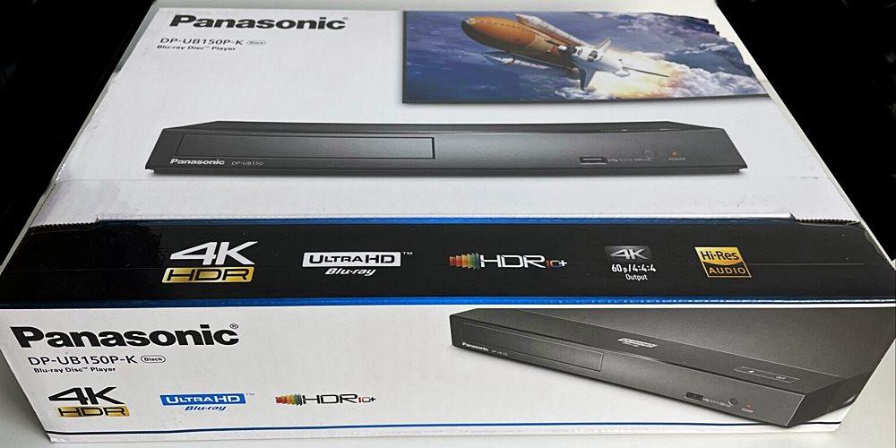 Panasonic 4K Blu Ray Player, Hi-Res Audio - DP-UB150-K
