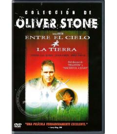 DVD - ENTRE EL CIELO Y LA TIERRA (COLECCIÓN DE OLIVER STONE) - USADA