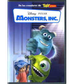 DVD - MONSTERS INC. - USADA