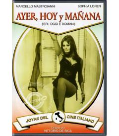 DVD - AYER, HOY Y MAÑANA - USADA