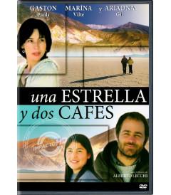 DVD - UNA ESTRELLA Y DOS CAFÉS - USADA
