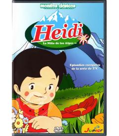 DVD - HEIDI (RESUMEN DE LA SERIE) (COLECCIÓN MONITOS CLÁSICOS) - USADA