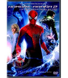 DVD - EL SORPRENDENTE HOMBRE ARAÑA 2 - USADA