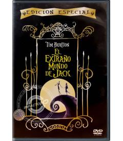 DVD - EL EXTRAÑO MUNDO DE JACK (EDICIÓN ESPECIAL) - USADA