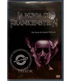 DVD - LA NOVIA DE FRANKENSTEIN - USADA