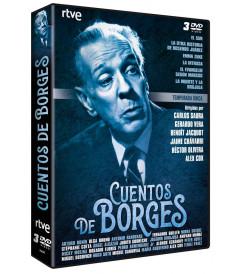 CUENTOS DE BORGES PACK 3 DVD