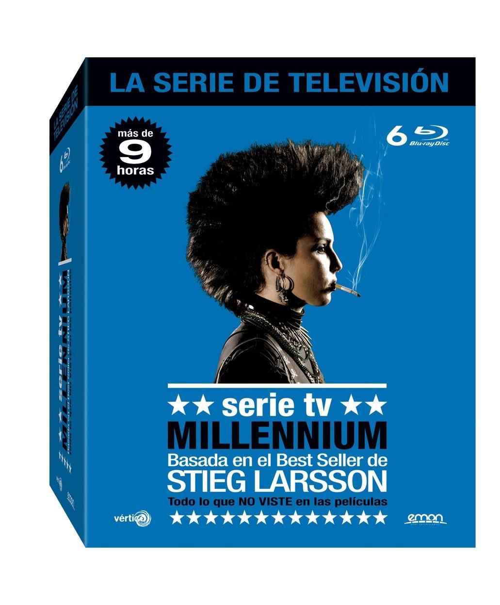 PACK MILLENNIUM LA SERIE DE TV