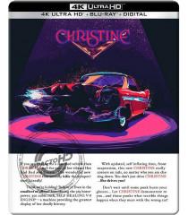 4K UHD - CHRISTINE (EL AUTO DEL DIABLO) (EDICIÓN STEELBOOK 35° ANIVERSARIO)
