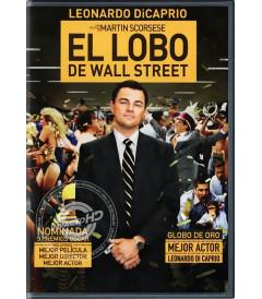 DVD - EL LOBO DE WALL STREET - USADA
