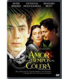DVD - EL AMOR EN LOS TIEMPOS DEL CÓLERA - USADA