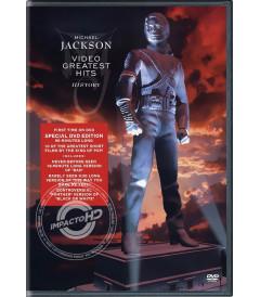 DVD - MICHAEL JACKSON (VIDEO GREATEST HITS) - USADA